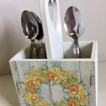 Sunflower Teaspoon Holder